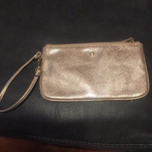 Nine West Rose Gold wristlet
